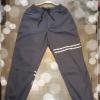 กางเกง jogger JG T616 เทาควันแถบขาว