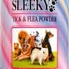 ผงโรยตัวกำจัดเห็บ หมัด ไร สำหรับสุนัข SLEEKY กระป๋องใหญ่ 250 กรัม