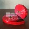 แถบPVCสะท้อนแสง แบบเรียบ 1 นิ้ว สีแดง