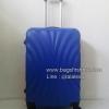 กระเป๋าเดินทาง Fiber 24 นิ้ว ลายพัดสีน้ำเงิน