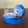 แถบPVCสะท้อนแสง ลายเคฟลา 2นิ้ว สีน้ำเงิน