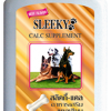 แคลเซียมสุนัข SLEEKY (สลิคกี้) บำรุงร่างกายและกระดูก รสเนื้อ สำหรับหมาทุกพันธุ์ - ขวดใหญ่ 630 กรัม