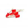 LED 5mm (สีแดง) จำนวน 10 หลอด