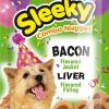 ขนมสุนัข SLEEKY คอมโบนักเกต รสเบคอน สอดไส้รสตับ - ขนมหมาทุกสายพันธุ์