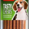 ขนมสุนัข SLEEKY เทสตี้ชิวส์ รสเบคอน (ขนมหมาแบบแท่ง)