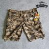กางเกงขาสั้น รุ่น camo shorts สีลายพรางน้ำตาล