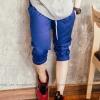 กางเกงสามส่วน พรีเมี่ยม ผ้า COTTON รหัส SS 306 BLUE สีน้ำเงินสด