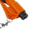 พวงกุญแจฉุกเฉิน ยิงกระจก ตัดสายเบลธ์ RESQME,RQM-EU2B