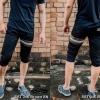 กางเกงสามส่วน พรีเมี่ยม ผ้า COTTON รหัส SST 315 Brown SN สีดำ แถบน้ำตาลงู