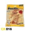 ขนมสุนัข MUNZNIE ไก่พันปลาเส้น / Chicken Fillet Jerky Wrap Fish Strip 11 ชิ้น