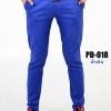 กางเกงขายาว รุ่น PD-018 (สีน้ำเงิน)