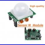 โมชั่นเซ็นเซอร์ อินฟาเรทเซนเซอร์ Adjust IR Pyroelectric Infrared IR PIR Motion Sensor Detector สามารถปรับความไวการตรวจับ และเวลาหน่วงได้