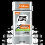 *หมดค่ะ*Right Guard Extreme Defense 5 Power Gel กลิ่น Fresh Blast 4 oz. / 113 g. ระงับกลิ่นกายแบบเจล ปกป้องนาน 72 ช.ม. ดีมากๆจากอเมริกาค่ะ