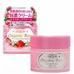 Meishoku organic rose moisture cream ขนาด 50 g. ครีมบำรุงเติมความชุ่มชื่นให้แก่ผิว ดีมากๆค่ะตัวนี้