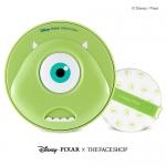 The Face Shop X Disney (microphone) CC Long Lasting cushion (20,000won) สูตรไพรเมอร์ปรับผิวเรียบติดทนนาน กระชับรูขุมขน