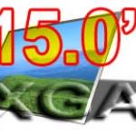จอ LCD 15 XGA 20,30 Pin จอกระจก 1024x768