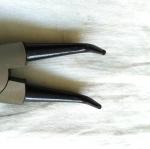 คีมหนีบแหวนปากงอ APEX 9 นิ้ว DST-9B