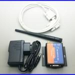 ควบคุมแบบไร้สาย อุปกรณ์ควบคุมผ่าน Serial RS232 to Wifi Converter,Support WPS and Smart-Link USR-WIFI232-200