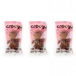 PET2GO ขนมขัดฟันสุนัข CROCGY รสเนื้อ 63g (3 ตัว/ชุด)