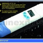 เครื่องวัดกรดด่าง เครื่องวัดค่า pH Meter Auto Calibration °C/ °F วัดอุณหภูมิ และ กันน้ำได้ รุ่น 8681