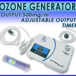 เครื่องผลิตโอโซน ใช้ได้ทั้งน้ำและอากาศ ผลิตโอโซนน้ำให้มีโอโซนบริสุทธิ์ Ozone Generator Water Purifier Ozonizer Air Dryer 500mg/hr (Pre-Order2สัปดาห์