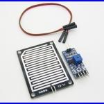 เซนเซอร์ตรวจจับฝนตก เซนเซอร์ฝนตก Rain sensor module Raindrops module weather module With 5Pin