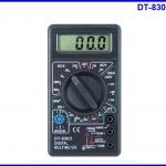 ดิจิตอล มัลติมิเตอร์ DT-830D Digital Multimeter AC/DC OHM Voltmeter