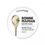 SWISSPURE Bonne Maman Recipe Mask (Wash-Off ) # Ricotta cheese 60g (7,000 won) สูตรมาร์ค ricotta cheese หน้าขาวใส นุ่ม เนียน