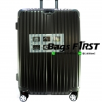 กระเป๋าเดินทาง รหัส 5507 สีเทา-ดำ ขนาด 28 นิ้ว