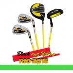อายุ 8-12 ขวบ ชุดไม้กอล์ฟเด็ก ผู้ชาย PGM USA Kids Golf Set Junior boy Black /Yellow