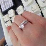 เครื่องประดับเพชรเทียบเท่า แหวนเพชรCZ แบรนด์ เพชรพันตรา ของขวัญสุดพิเศษสำหรับคนที่คุณรัก