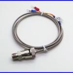 เทอร์โมคัปเปิล สายเครื่องวัดอุณหภูมิ 600°C 1m High Temperature Sensor 0-600 Degree Buckle Clip J Type Thermocouple