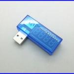 เครื่องวัดไฟฟ้า มิเตอร์แสดงค่าแรงดันไฟฟ้าและกระแสไฟฟ้า USB Charger Doctor Mobile Battery Tester Power Detector Voltage
