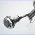พร็อกซิมิตี้เซนเซอร์ เซนเซอร์แบบตรวจจับแม่เหล็ก Hall Sensor NPN 3-wire NO dia 12mm Proximity Switch NJK-5002C