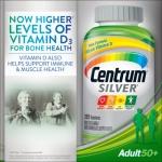 *หมดค่ะ*Centrum Silver Multivitamin / Multimineral Supplement From A to Zinc 285 Tablets