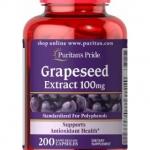 *หมดค่ะ*Puritan's Pride Grapeseed Extract 100 mg. 200 เม็ด อุดมไปด้วยวิตามิน A และสารต้านอนุมูลอิสระมากมาย จากอเมริกาค่ะ