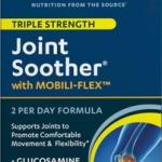 แพคเกจใหม่ล่าสุดค่ะ Vitamin World Joint Soother Triple Strength 90 Coated Cablets มีครบทั้ง 3 ตัวหลักๆที่คนมีปัญหาเรื่องข้อต้องการ Glucosamine ,Chondroitin ,MSM จากอเมริกาค่ะ