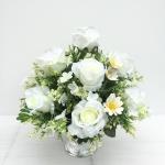 พานดอกไม้ประดิษฐ์ รหัส 4301