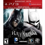 PS3: Batman Arkham Asylum + Batman Arkham City Dual Pack (Z1)