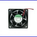 """พัดลมระบายความร้อน พัดลมระบายอากาศ 12VDC 4500RPM 1.8W 2.5"""" KD1206PTS1.GN"""