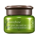 INNISFREE THE GREEN TEA SEED EYE CREAM 30ML อายครีมอุดมด้วยชาเขียว ซึ่งช่วยต่อต้านอนุมุลอิสระ