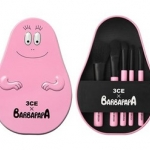 STYLENANDA 3CE BARBAPAPA BRUSH KIT (53,000won)