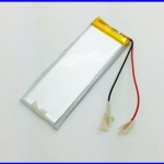 แบตเตอรี่ ลีเธี่ยม โพลิเมอร์ battery 800mAh 3.7V lithium polymer battery 422670