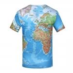 เสื้อผ้าลายแผนที่โลก