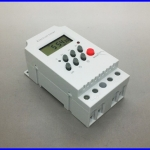 เครื่องตั้งเวลาดิจิตอล ตัวตั้งเวลา รายวัน รายสัปดาห์ มีแบตเตอรี่ lithium และรีเลย์ ในตัว 17 On/Off Programmable Electronic Timer 25A 12V