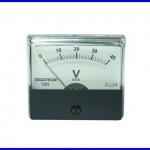 Panel Meter มิเตอร์ติดแผงหน้าปัทม์ 7203 DC40V