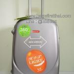 กระเป๋าเดินทาง N012 สีบรอนซ์เงิน ขนาด 24 นิ้ว