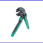 คีมย้ำ คีมตัด คีมจับ คีมปลอก pliers คีมย้ำสายพร้อม DIE CP-371B (AWG 22-18/16-14/12-10) PRO'S KIT