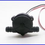 เซ็นเซอร์วัดอัตราการไหลของน้ำ วัสดุ POM เกรดสำหรับอาหาร food Grade Water flow sensors MJ-A68-1 Black flow level meter,1/8 Diameter