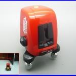 วัดระดับน้ำเลเซอร์ วัดระดับเลเซอร์ 360องศา AK435 360degree self- leveling Cross Laser Level 1V1H Red 2 Line 1Point